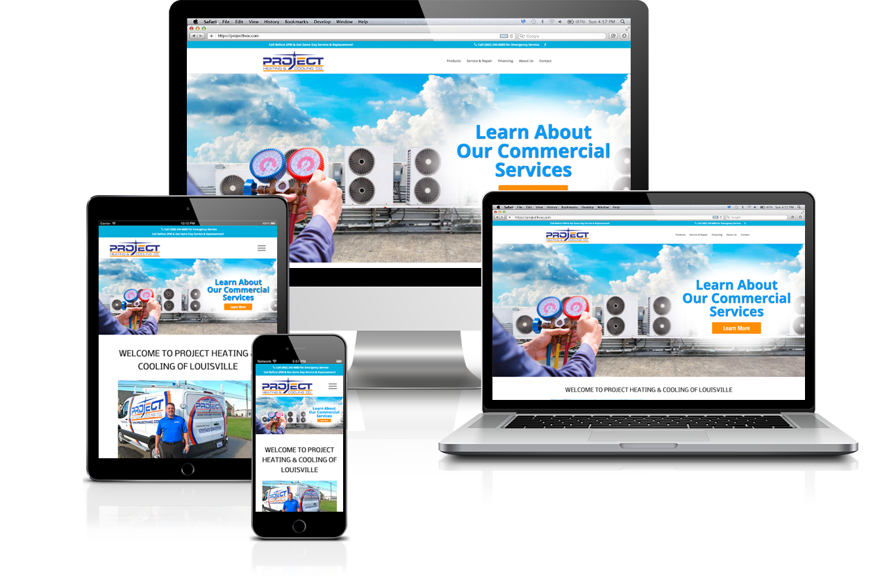 Project Heating & Cooling Website