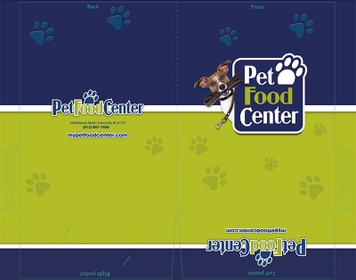 Pet Food Center Folder