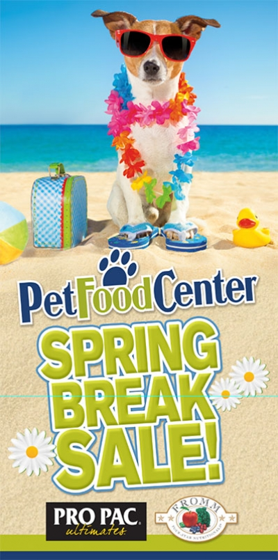 Pet Food Center Web Banner