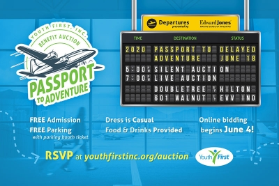 Youth First Passport to Adventure Graphic