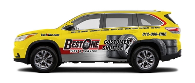 Best-One Tire & Service Vehicle Wrap