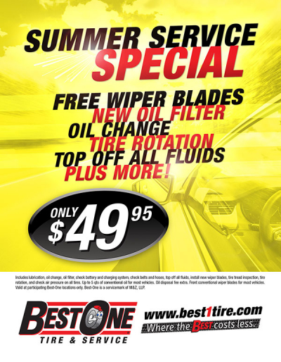 Best-One Tire & Service Flyers