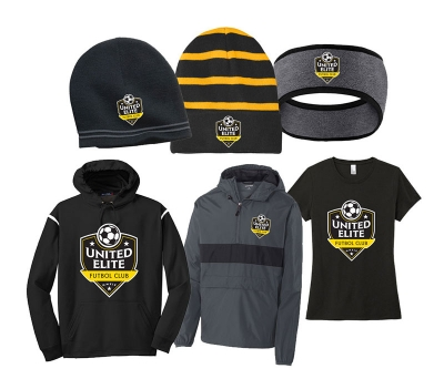 United Elite Futbol Club Apparel