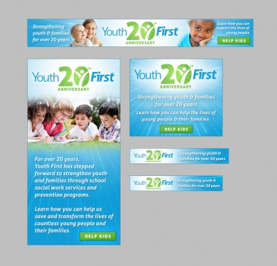 Youth First Web Banners