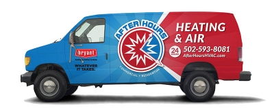 After Hours Heating & Air Van