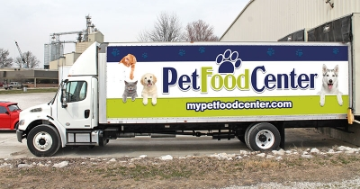 Pet Food Center Truck