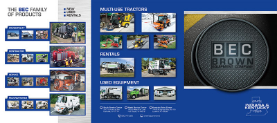 Brown Equipment Co. Tri-Fold Brochure